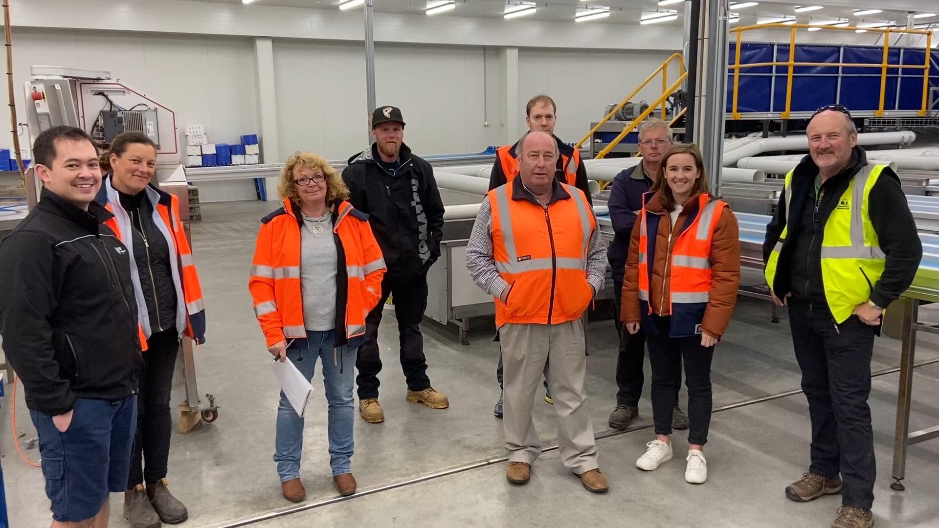 WorkSafe Tasmania Reid Fruits Visit