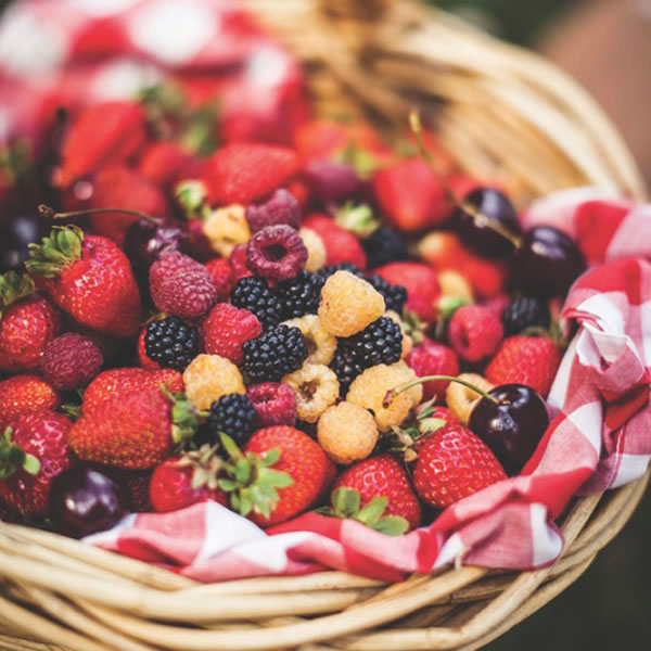 Berry basket, Sorell Fruit Farm